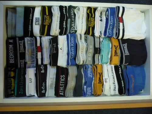 My underwear drawer