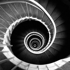 DNA? (liber) Tags: bw paris france stairs spiral delete5 delete2 stair delete6 delete7 save3 delete8 delete3 save7 save8 delete delete4 save save2 save9 save4 staircase dna helix save5 save10 save6 saveddmu committeeofartistists