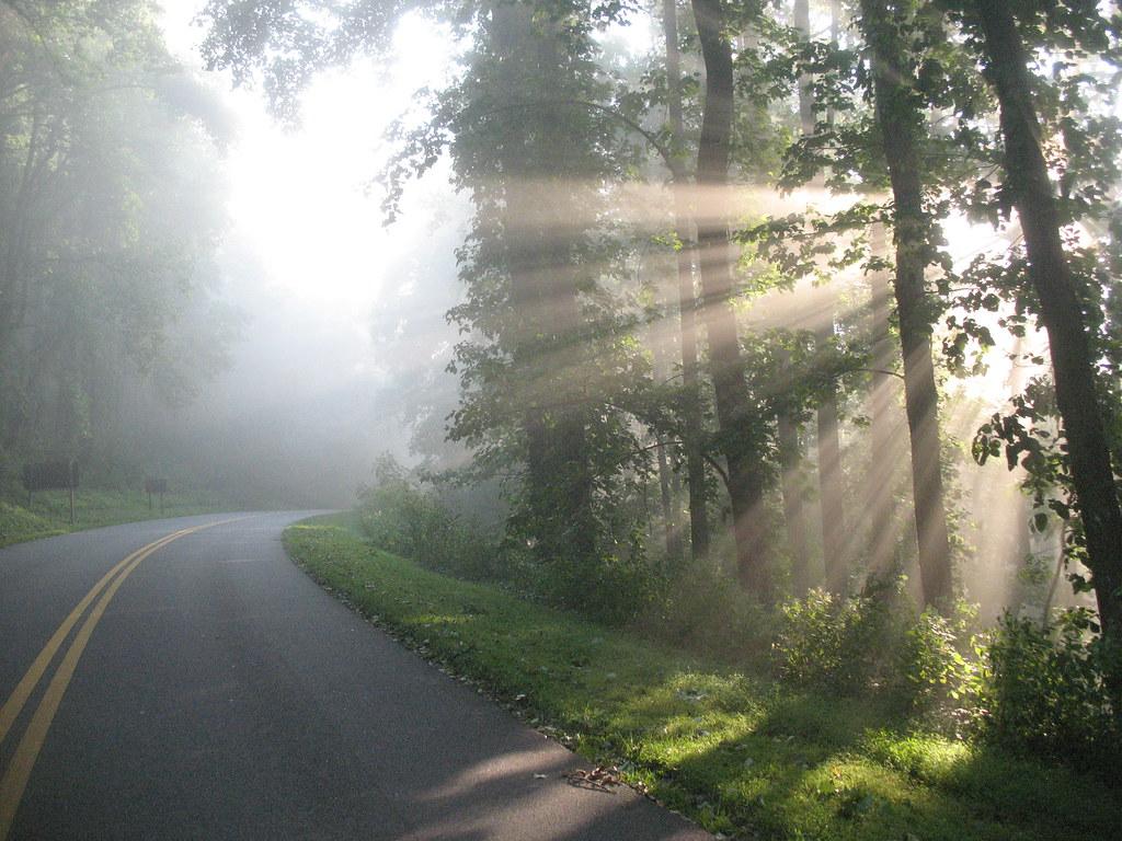 Blue Ridge Parkway道路之美 和谐为尚