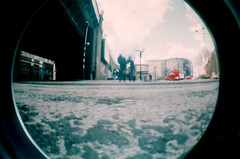 waterloo (Derek Bremner) Tags: london lomo lomography fisheye