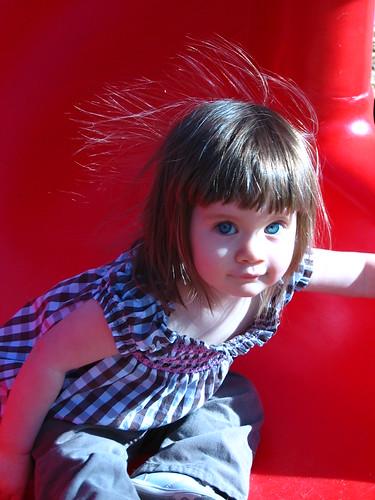 static girl