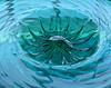Aqua (HannyB) Tags: blue green glass interestingness aqua 100v10f onblue flickrsbest 30faves30comments300views
