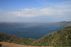 View Over Massive Crater Lake