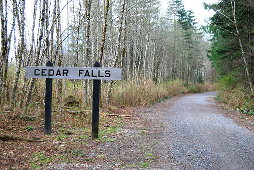 1 - Cedar Falls Railroad Sign