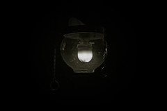 gas lamp (Leo Reynolds) Tags: light bw lamp photoshop canon eos iso400 gas 70mm f67 0008sec 40d hpexif leol30random groupbw cromermuseum groupsepiabw groupblackwhitepics xleol30x xxx2009xxx xratio3x2x
