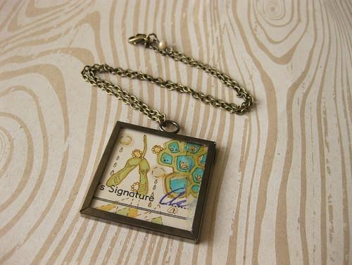 Nurture thy Mind No. 4 Pendant Necklace