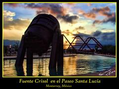 Fuente Crisol (Paseo Santa Lucía)