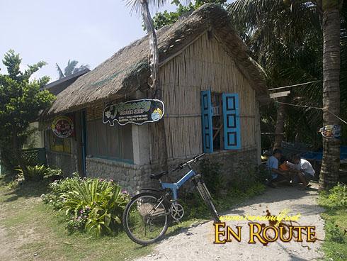 Biking Batan Island Honesty Coffee Shop