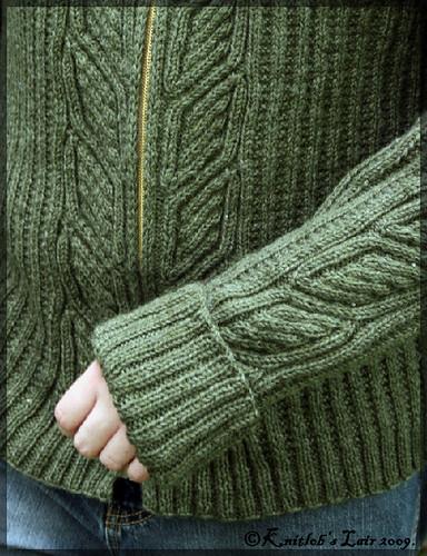 vihreä villatakki 6