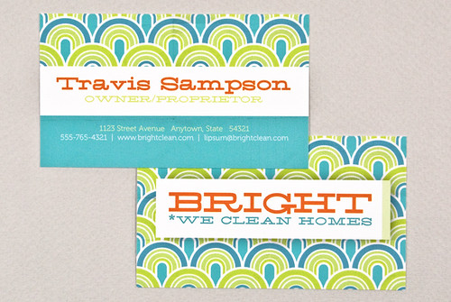 Bright Cleaning Business Card