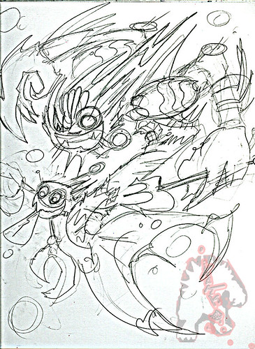 MERDUDE , Heir to Neptune.. gone Tomorrow // Pencils