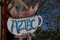 Aztec (The Real Santa Fe) Tags: santafe coffee aztec