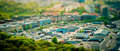 A Piece Of Stockholm (Rutger Blom) Tags: city blur industry public buildings miniature klein stockholm small capital sverige industrie kaknstornet stad gebouwen industri liten byggnader miniatuur miniatyr faketiltshift hoofdstad huvudstad yearbook2009