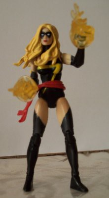 Dont mess with Ms. Marvel. She burns gloves.