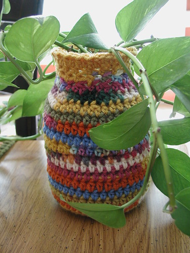 Crocheted Jar