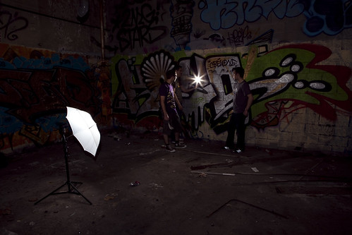 Urbex - Usine Bayard - Backstage shooting
