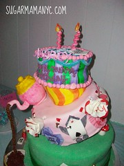Alice in Wonderland (Sugar Mama NYC) Tags: new york nyc cake designer treats michelle mama sugar desserts novelty sculpted specialty fondant duquesnay sugarmamatreatscom