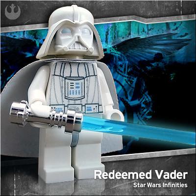 Redeemed Vader custom minifig