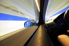 please follow the blue lines (Toni_V) Tags: longexposure blue abstract motion blur golf volkswagen switzerland movement driving zurich perspective tunnel gti 2009 18t randonnée d300 sigma1020mm fcz photographyrocks toniv goldenart reflectyourworld fcztunnel