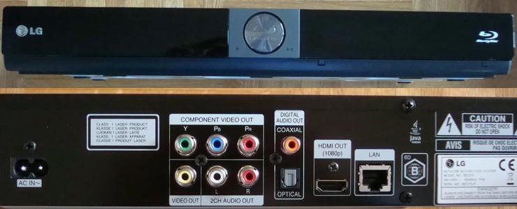 lecteur blu ray LG BD370