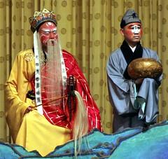 Peking  Opera (Heaven`s Gate (John)) Tags: china travel costume opera theatre traditional beijing culture makeup mikado peking pekingopera johndalkin heavensgatejohn