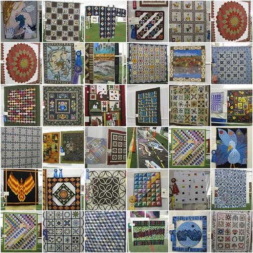 Wings Falls Quilt Guild Quilt Show Mosaic