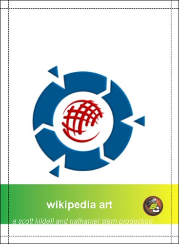 wikipedia art baseball card (front) (2009, digital file, dimensions variable)