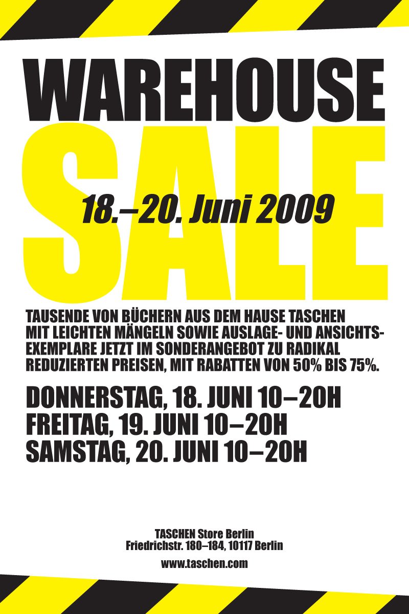 WAREHOUSE SALE BE