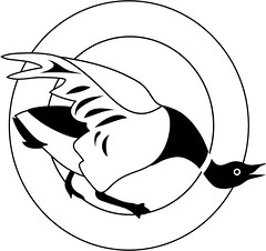 Gander Press Colophon (faith goble) Tags: art logo book artist photographer drawing kentucky ky goose poet writer vector honk brant publisher gander colophon adobeillustrator bowlinggreenky abigfave blackandwhitelogo bowllinggreen picturefantastic faithgoble ganderpressreview gographix faithgobleart