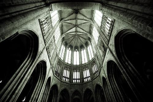 Mont Saint-Michel - Abbaye