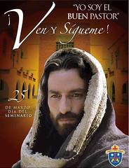 yo soy el buen pastor, ven y sígueme, Seminario de Guadalajara