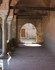 Torcello basilica courtyard