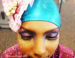 Make Up and Styling (Art Fountain) Tags: dance costume colours makeup hairstyle styling headdress