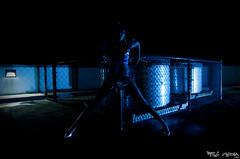 Shamar (r3g) Tags: lighting blue light shadow white color beauty up set umbrella square lens tin diy model nikon media shoot shot dish legs zoom parking flash sb600 lot heels africanamerican through tamron speedlight mayhem gel f28 strobe shamar d90 sb24 strobist 1750mm r3g