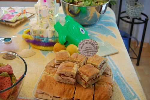 baby shower - food