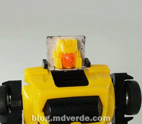 Transformers Hubcap G1 - modo robot