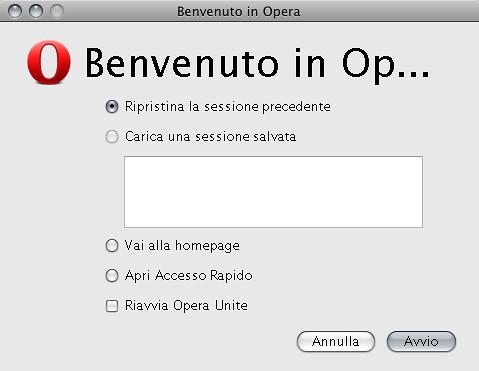 Benvenuto in Op...