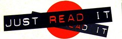 Just Read It Bookmark (Enokson) Tags: school red white black childhood kids paper children reading book child library libraries teens books read attitude teen bookmarks schools placeholder middleschool bookmark dymo juniorhigh justread rewards incentives middleschools readit juniorhighschools librarybookmarks enokson librarybookmark