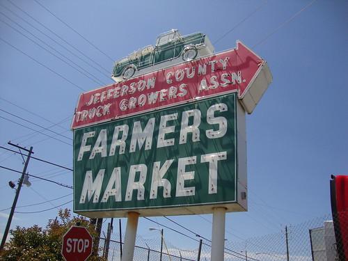 Jefferson County Truck Growers Association Farmers Market, Birmingham AL