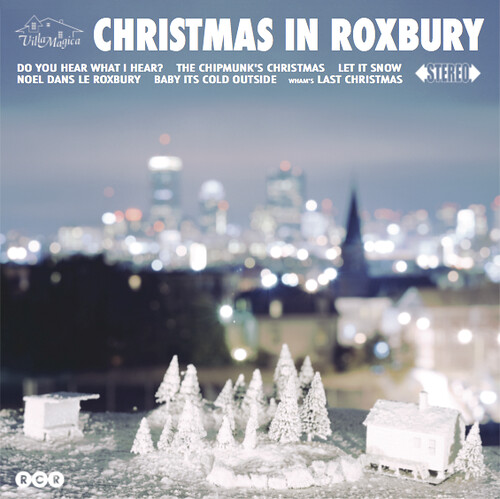Xmas in Roxbury LP front