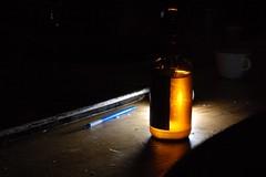Last Night at Kingman (ben.chaney.archive) Tags: light shadow beer paint flash kingman strobist offcameralighting