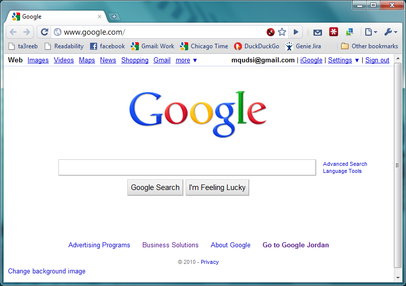 Google Adds Support for Customizing Homepage Background!
