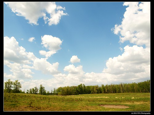 Sky-watching from Elk Island National Park