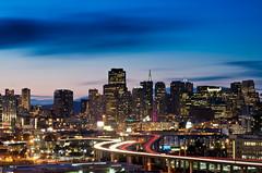 Clear Night (morozgrafix) Tags: sanfrancisco city longexposure sky skyline night view financialdistrict potrerohill nikon2470mmf28g nikond7000 52weeks2011