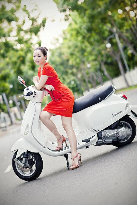 chụp hình chân dung thời trang ngoại cảnh - model Laura Lai