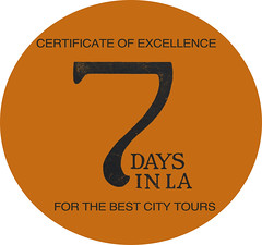 7daysinla certificate of excellence