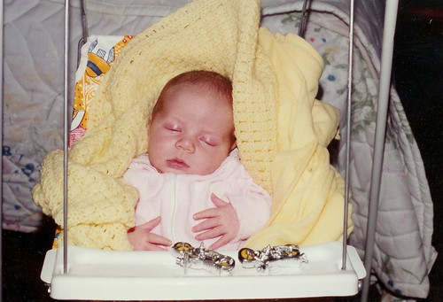 me, 1 month old