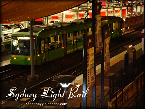 Light Rail Darling Harbour