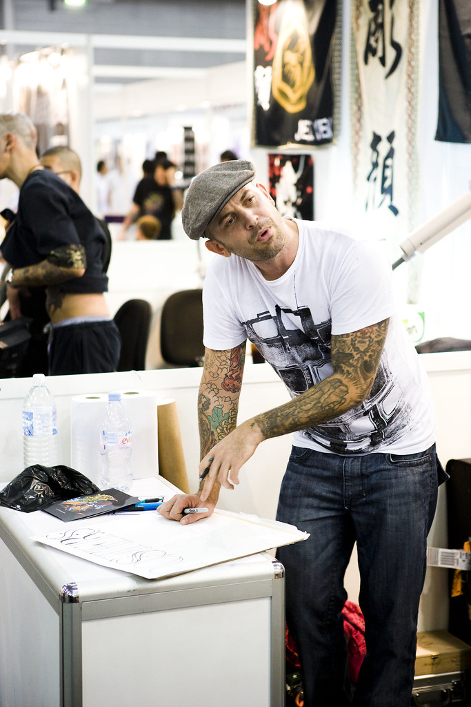 Chris Garver Miami Ink, USA