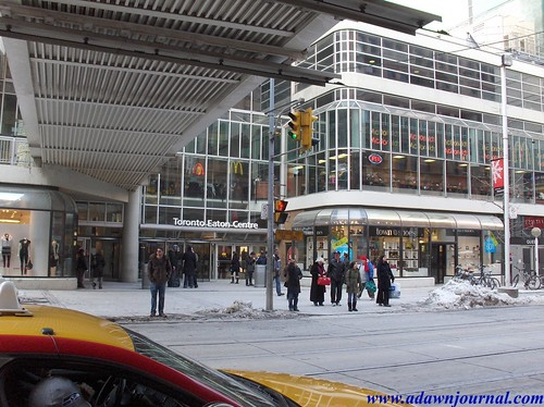 Toronto Eaton Centre - After Christmas